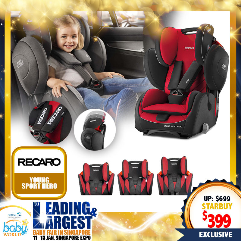 Recaro Young Sport Hero Carseat for $399 ONLY!!