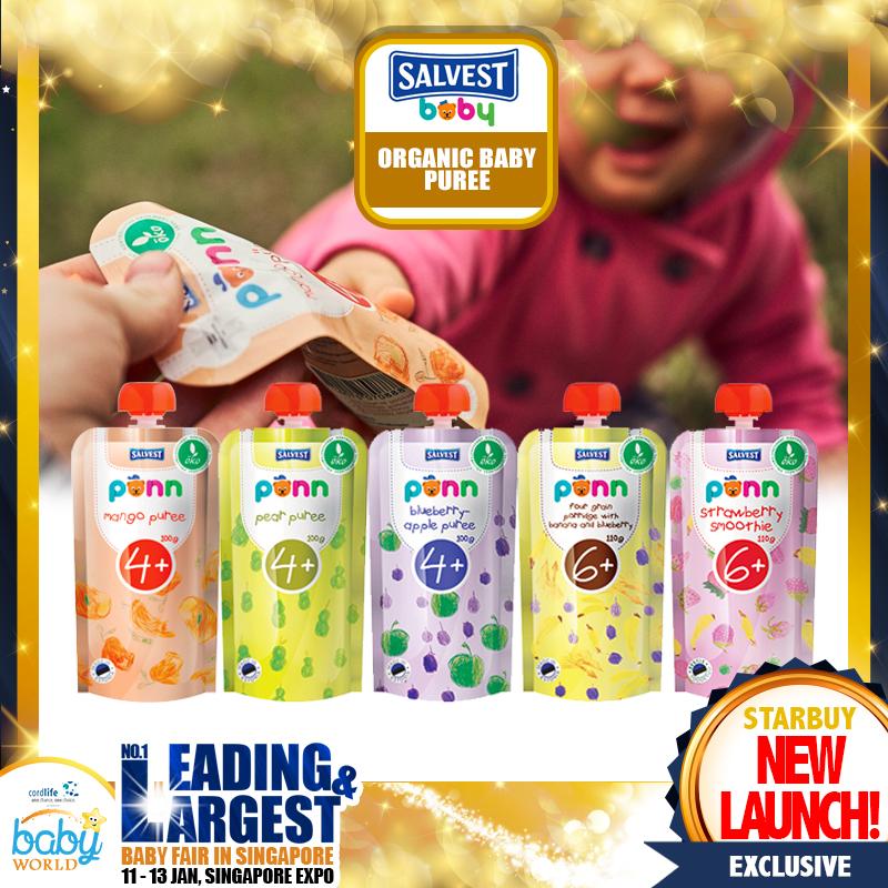 Ponn Organic Puree Baby Food (New Launch!!)