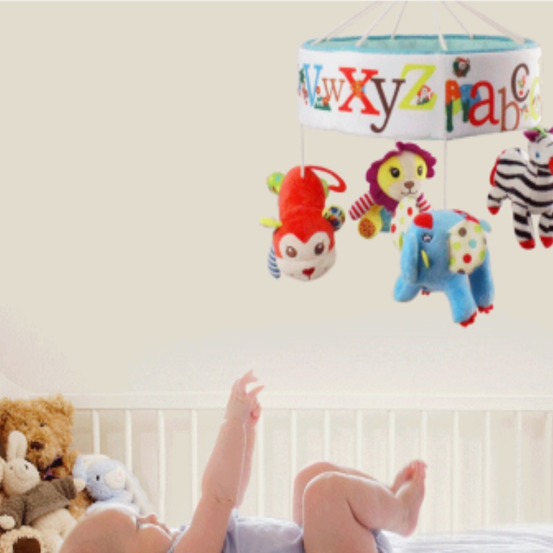 SKK BABY - Cot / Playpen Musical Mobile Toy (42 PERCENT OFF!)