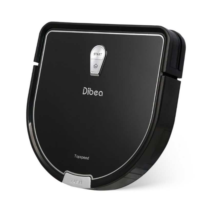 Dibea D960 Silent Robot Vacuum + Free BoomJoy P4 Spray Mop Worth $49.90 + 1 YEAR WARRANTY!!