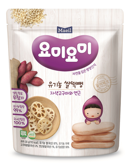 Maeil Baby Food From Korea Mam'ma Meal (Rick Snacks - Different Stages available) Bundle of 2
