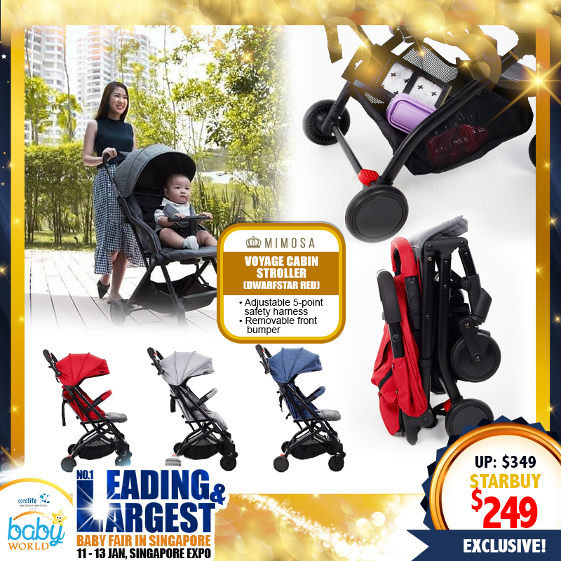 MIMOSA Voyage Cabin City Stroller UP TO 30% OFF!!