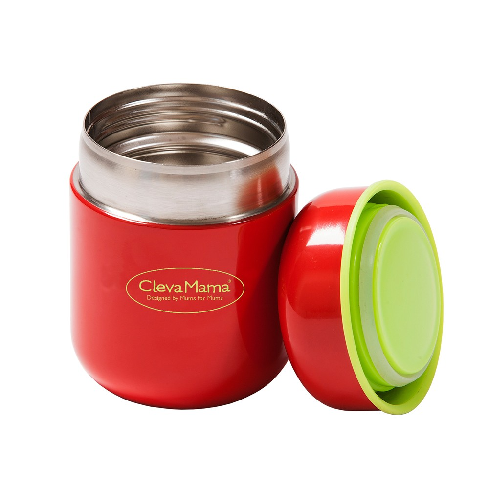 CLEVAMAMA Thermal Food & Drink Flask