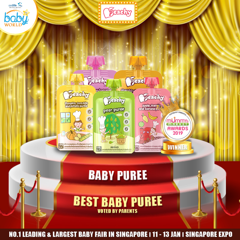 PEACHY - Best Baby Puree