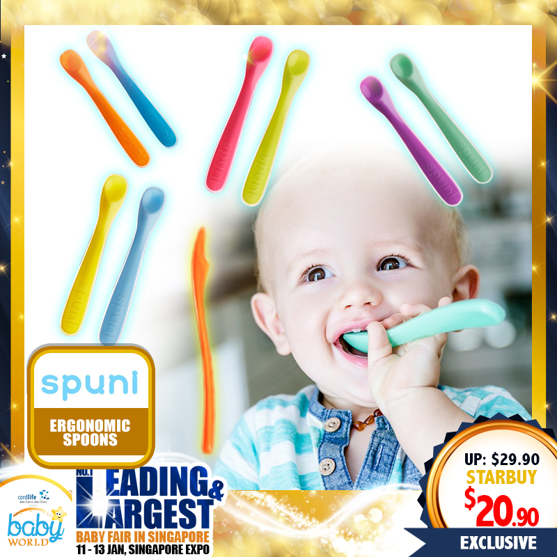 Spuni Spoons for babies (Set of 2) - 30 PERCENT OFF