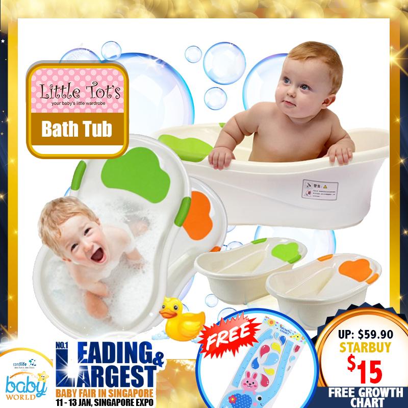 Little Tots Bath Tub for Newborns to 6M (75 PERCENT OFF NOW!!)