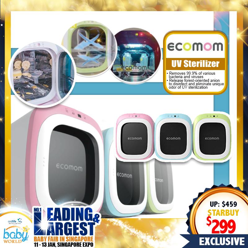 Ecomom UV Sterilizer and Dryer
