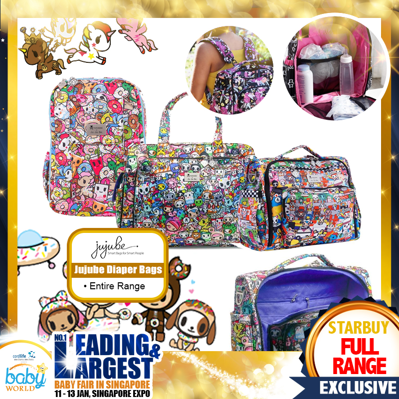 Jujube Diaper Bag Range
