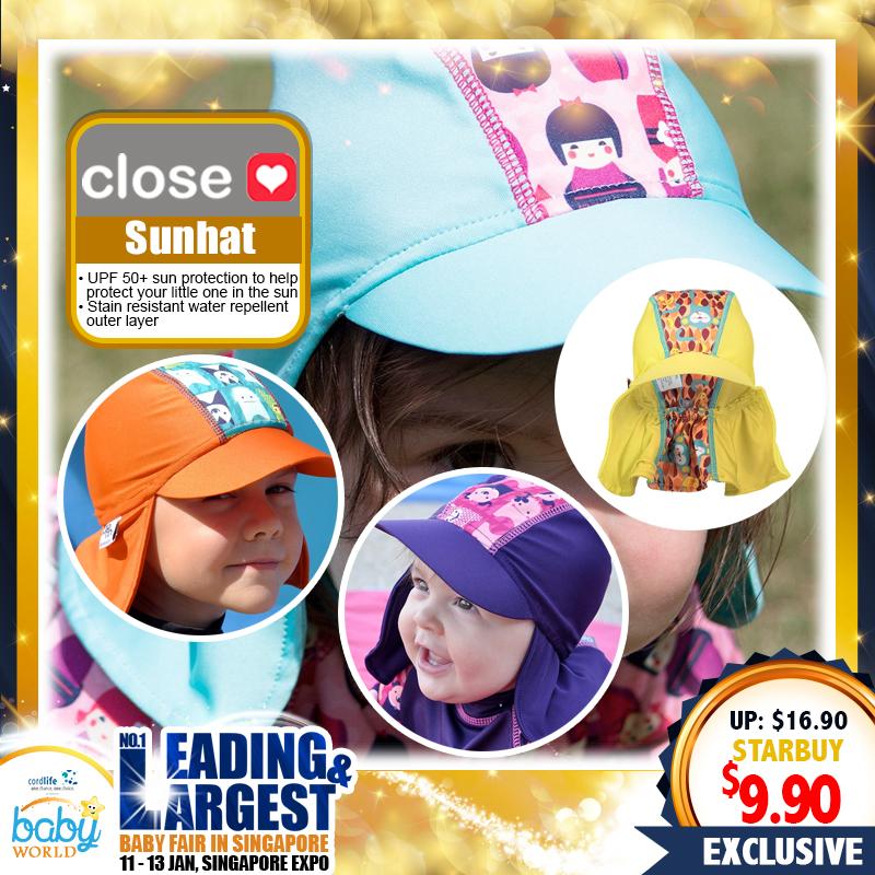 Close Parents Sun Hat