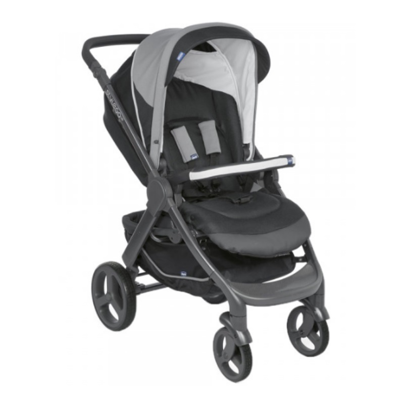 Chicco Stylego Up Stroller Cross Jet Black