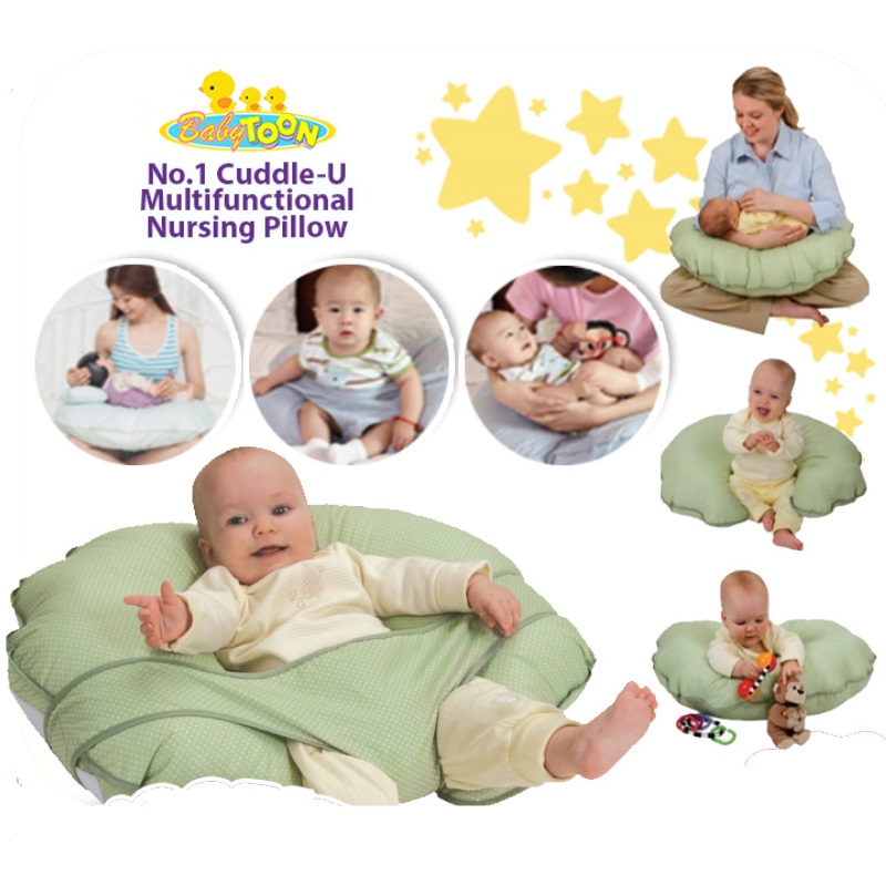 Babytoon No.1 Cuddle-U Multifunctional Nursing Pillow