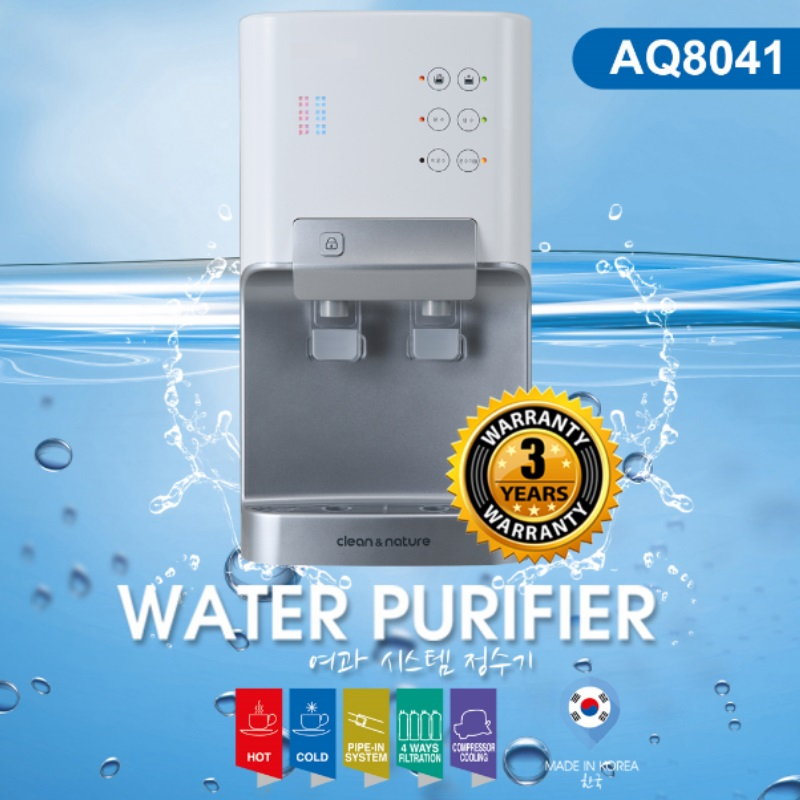 Acqua Vida AQ8041 Water Purifier + 3 YEARS WARRANTY & 1 YEAR ON SITE WARRANTY!