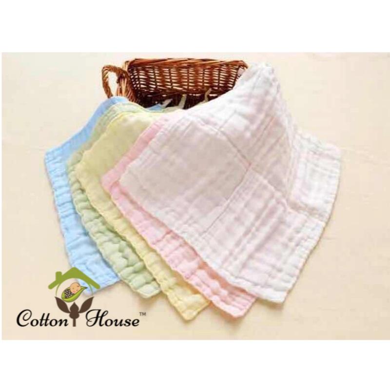 Cotton House Face Towel (Bundle of 3) - Multiple colors available!