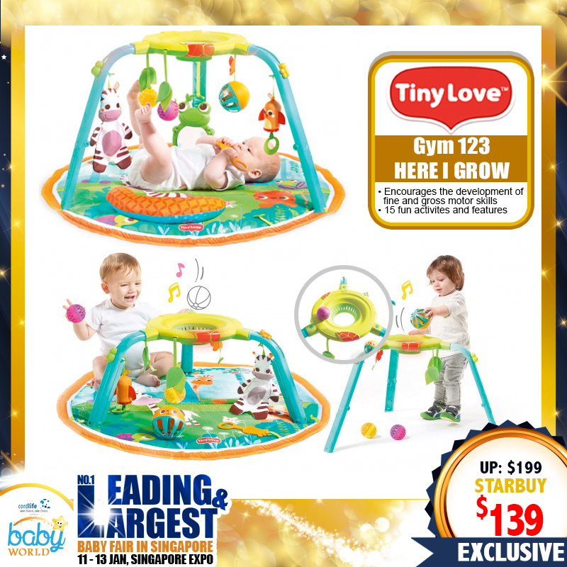 TinyLove 123 Here I Grow Playgym