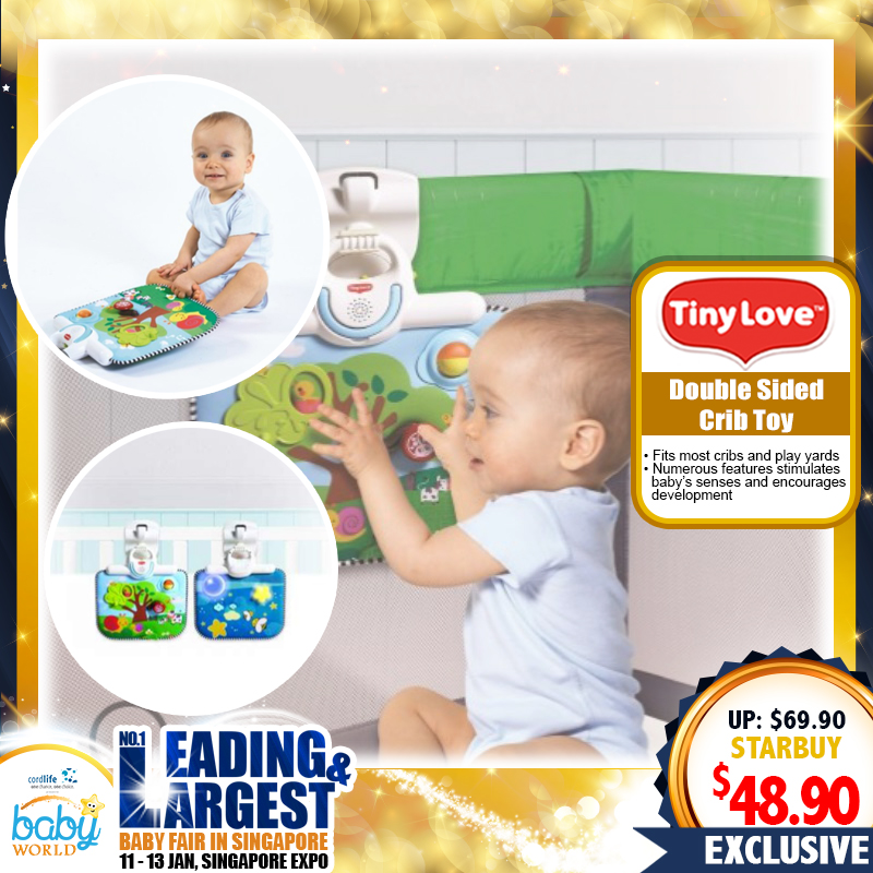 TinyLove Double Sided Playpen Crib Toy (30 PERCENT OFF NOW)