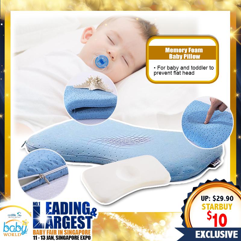 Mummykidz Memory Foam Baby Pillow