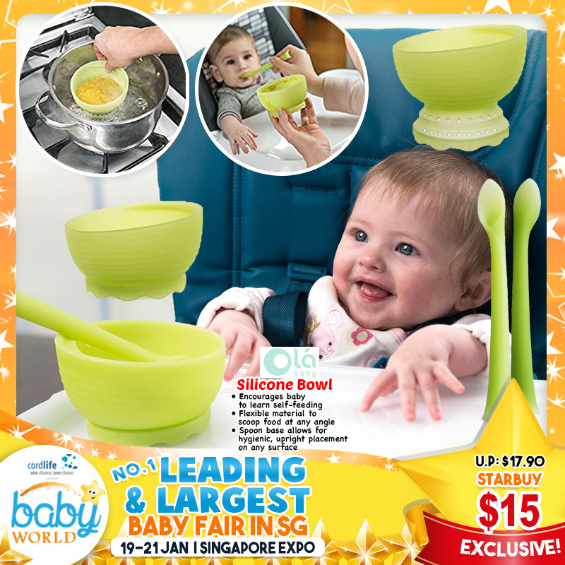 Olababy Silicone Bowl
