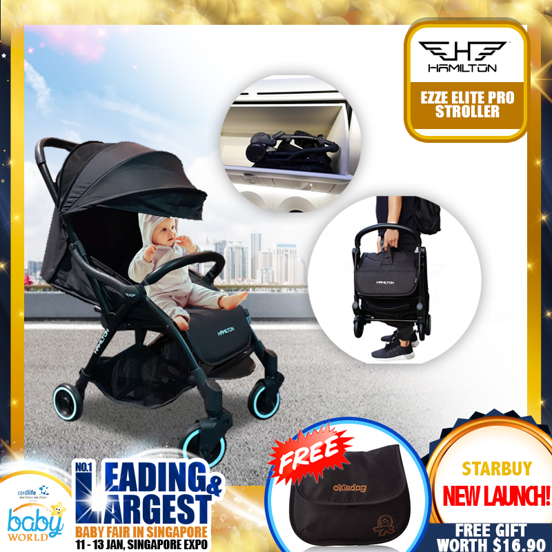Hamilton EZZE ELITE PRO Stroller NEW LAUNCH + FREE GIFT