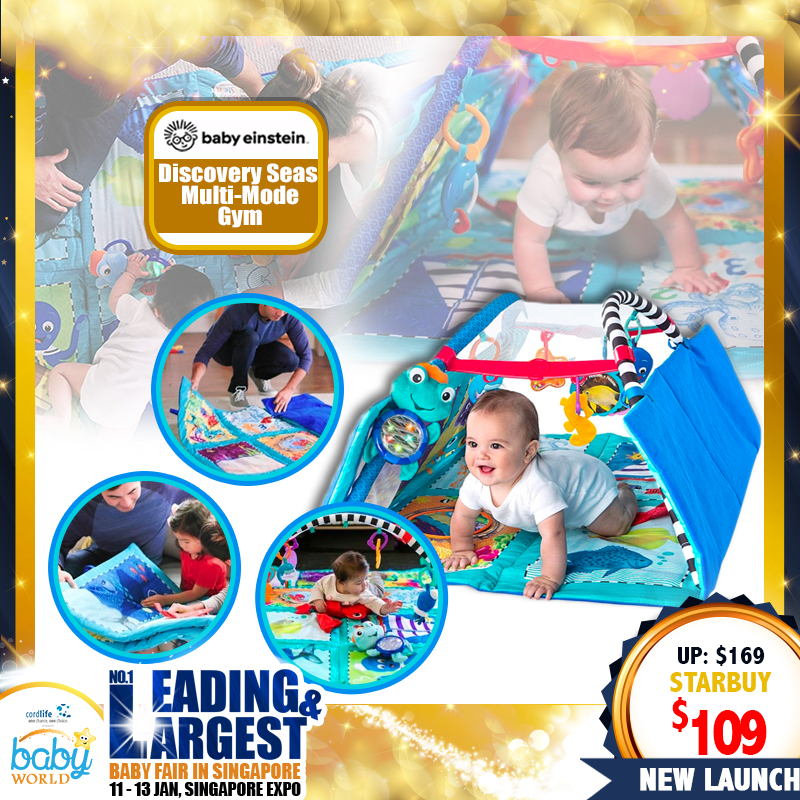 Baby Einstein Discovery Seas Multi-mode Playgym