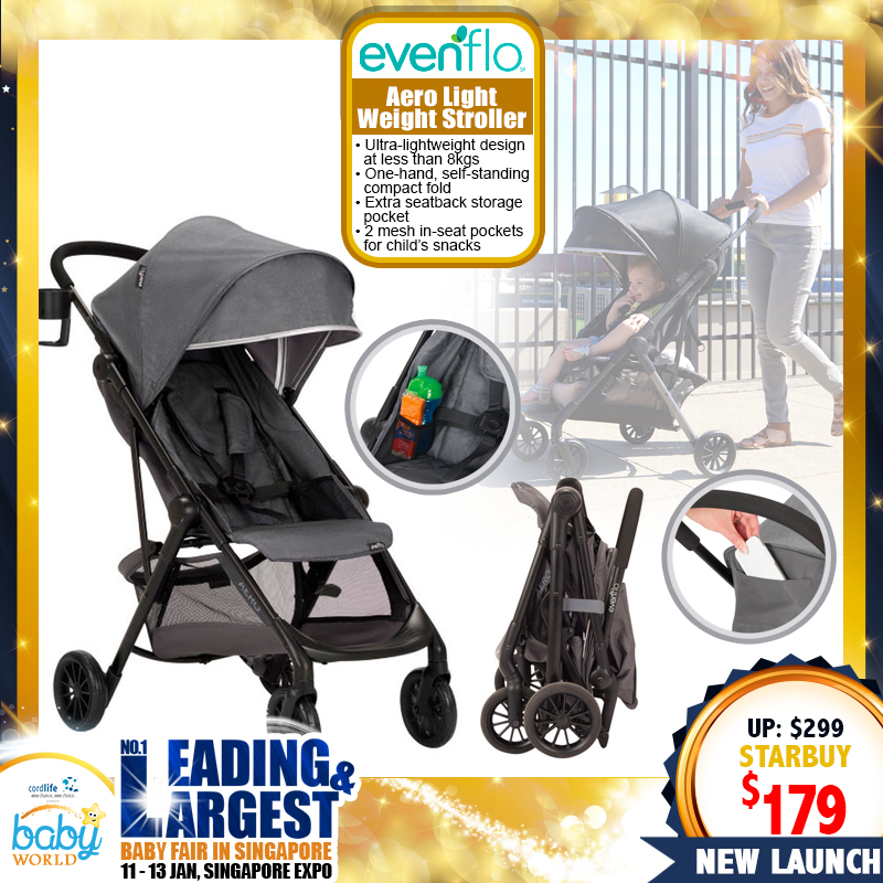Evenflo Aero Light Weight Stroller (40 PERCENT OFF)