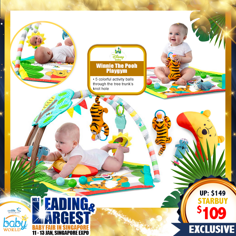 Disney Winnie the Pooh Activity Playgym