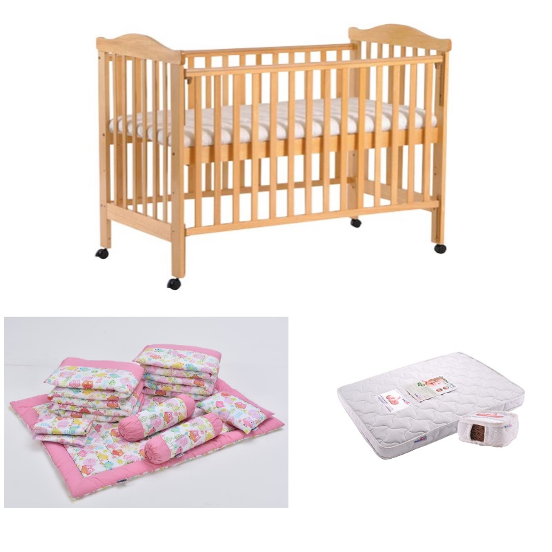 Babylove 11 in 1 (4 in 1 Convertible Cot Bed Combo) + Free 5 Years Warranty!!