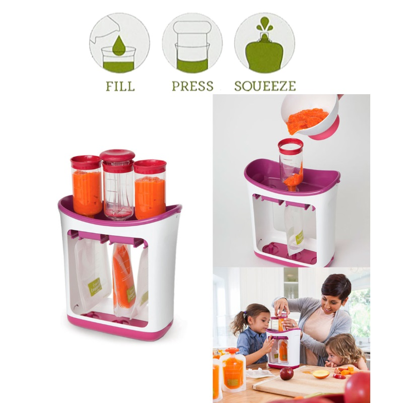 Baby Food Fresh Squeeze Station + Free Gift (70 PERCENT OFF!!)
