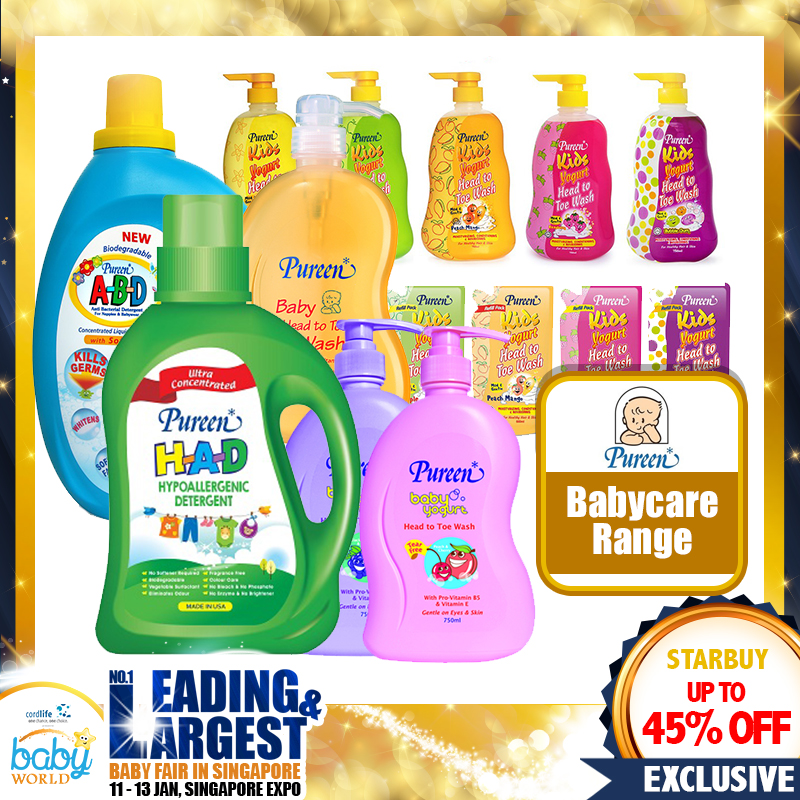 Pureen Babycare Range Up to 45 PERCENT OFF!!