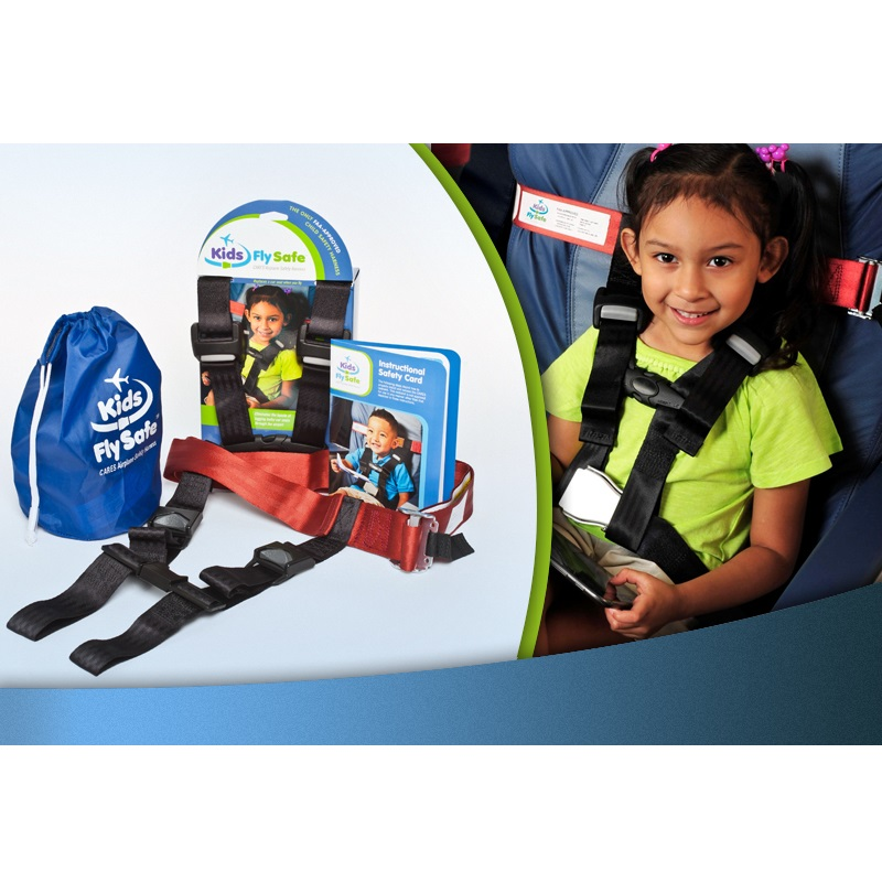 Kids Fly Safe Travel Safety Harness (For Use In Plane)