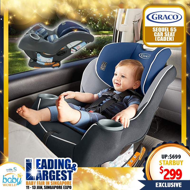 Graco Sequel 65 Convertible Carseat + Free Carseat Undermat worth $79.90
