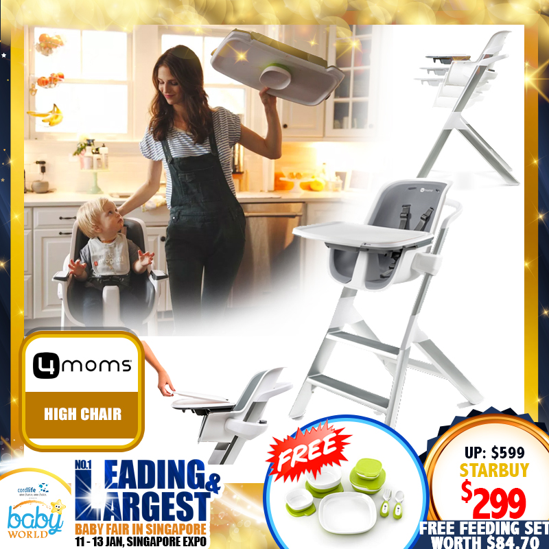 4moms Highchair FREE Feeding Starter Set (Worth $84.70)!!