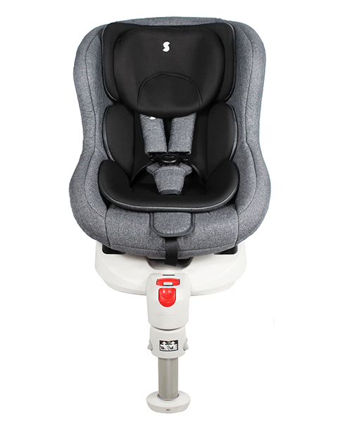 Snapkis MyRide Dual-Fix 0-4 Carseat (GREY MELANGE/BLACK II)