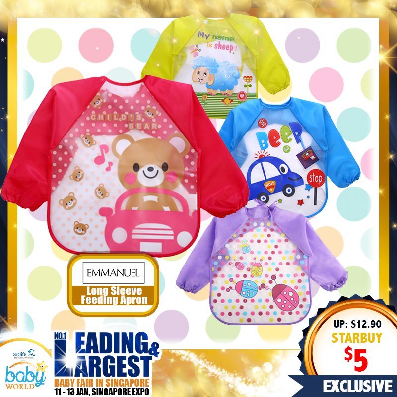 EM Long Sleeve Feeding Apron (61 Percent OFF!!)