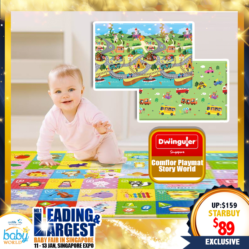 Comflor Playmat S-L sizes (Animal Ark, Travel Animal World, Story World)