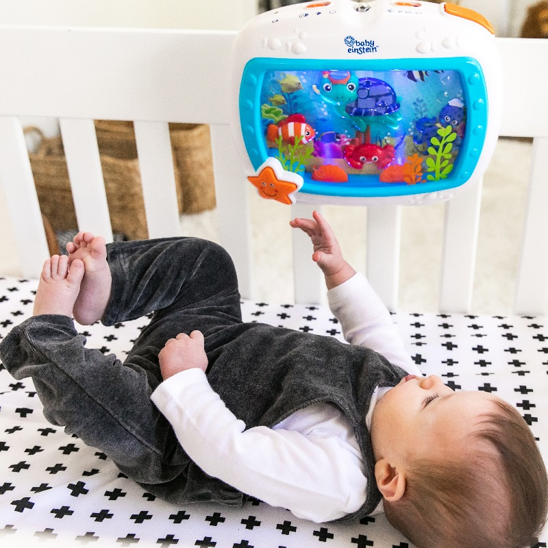 Baby Einstein Sea Dreams Soother Lullaby Crib Toy with Lights