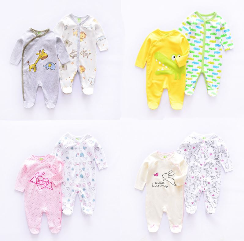 NEW LAUNCH!! Homie New Born Baby Romper / Pyjamas 2 Pcs Set Bundle *ADDITIONAL FREE Gift for EARLY BIRD SPECIAL!!