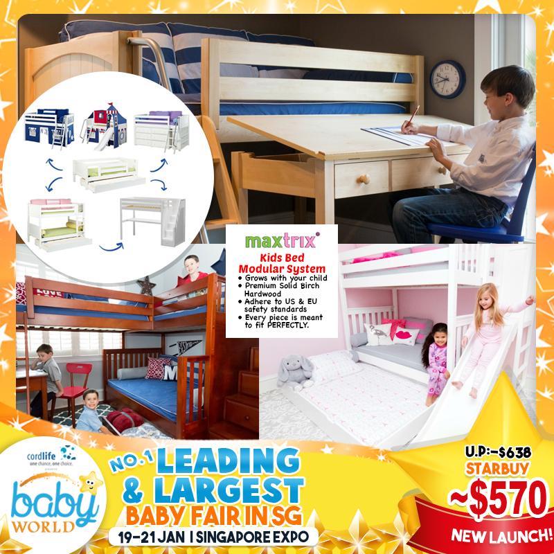 Maxtrix Kids Bed Modular Syste