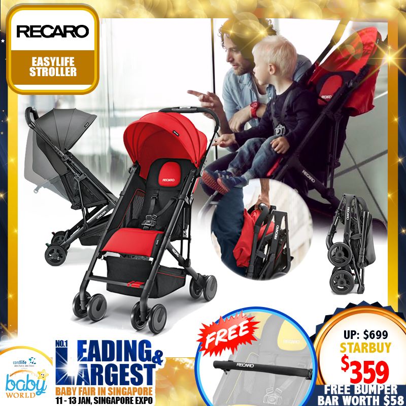 Recaro Easylife Stroller FREE Bumper Bar (Worth $58)!!