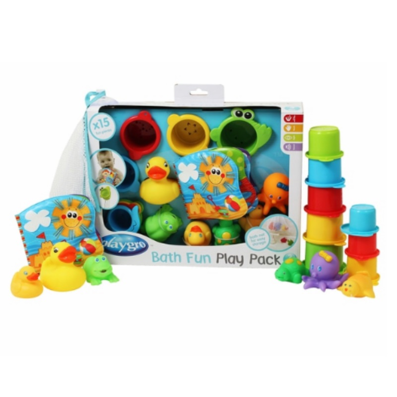 Playgro Bath Fun Toys Gift Pack