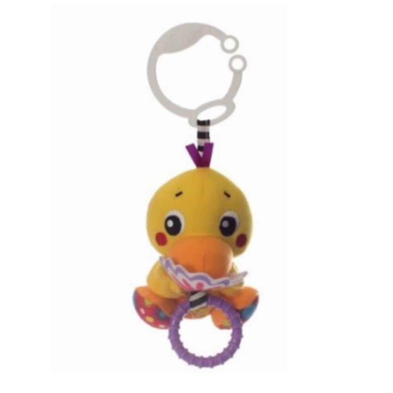 Playgro Peek-A-Boo Wiggling Duck Toy