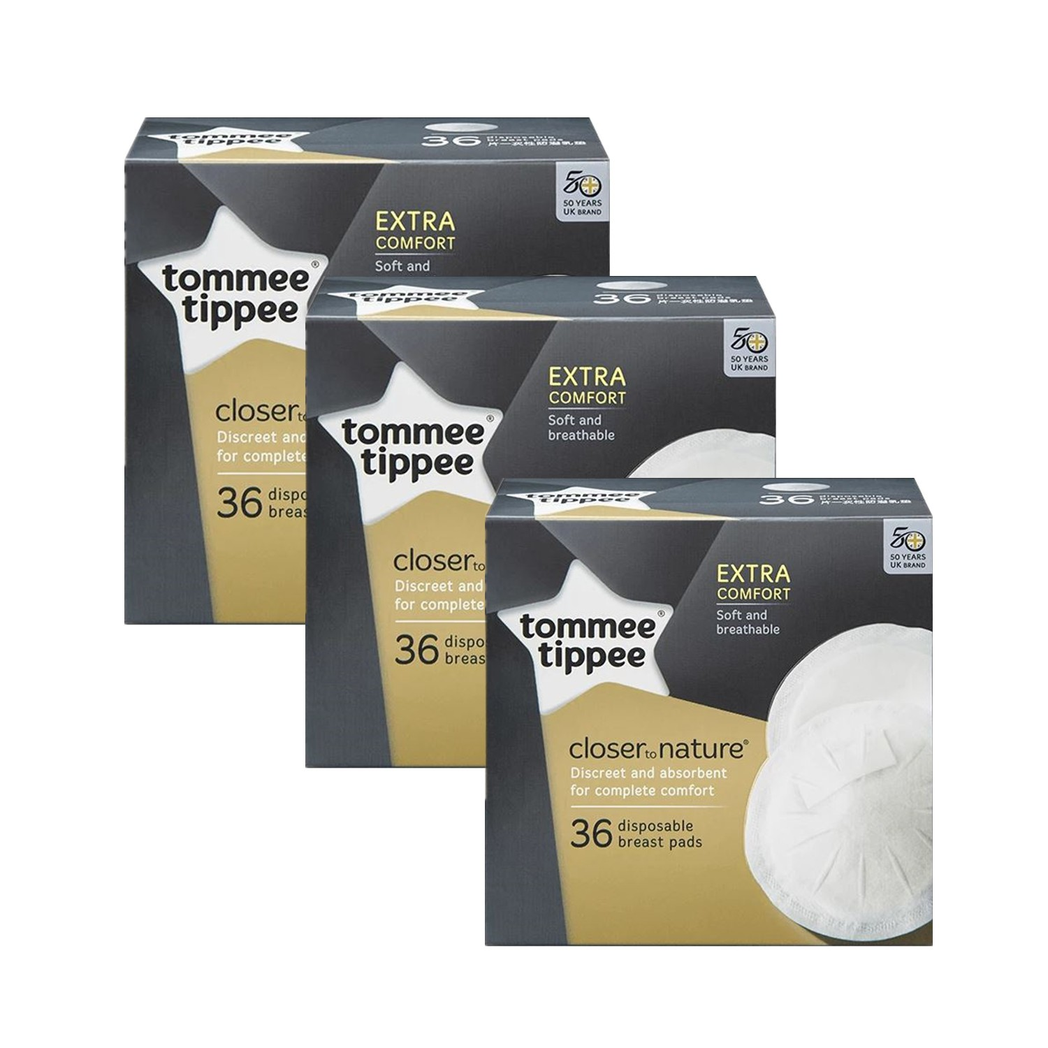 TOMMEE TIPPEE BREAST PAD SET (3 FOR 2) (UP $38.70)