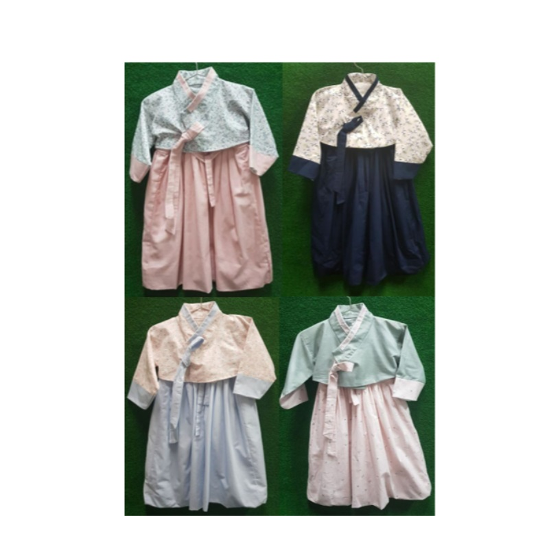 Korean Hanbok/Dresses/Rompers Apparel