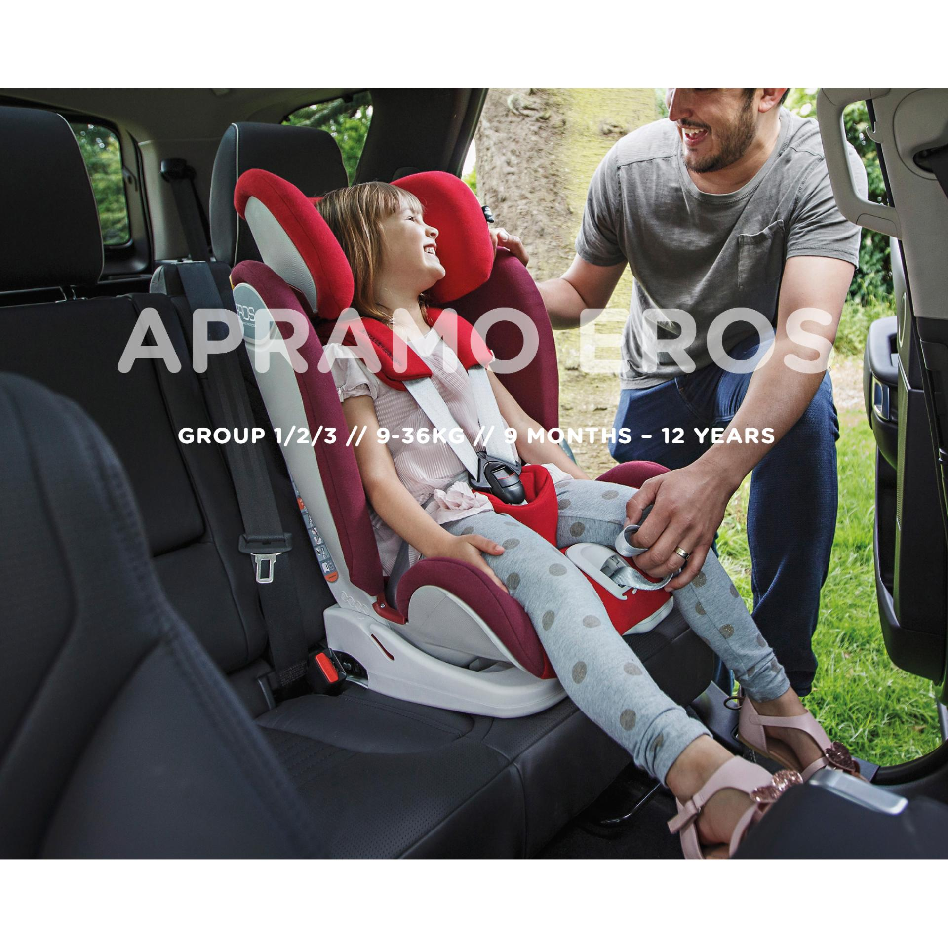 Apramo Eros Carseat *ADDITIONAL FREE Gift for EARLY BIRD SPECIAL!!