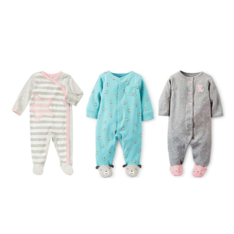 Little Tots Assorted Jumpsuits (Bundle of 3) - 63.3 PERCENT OFF NOW!