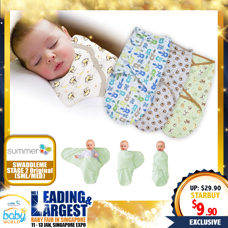 Summer Infant Original Swaddleme (S/M) - 67 PERCENT OFF!
