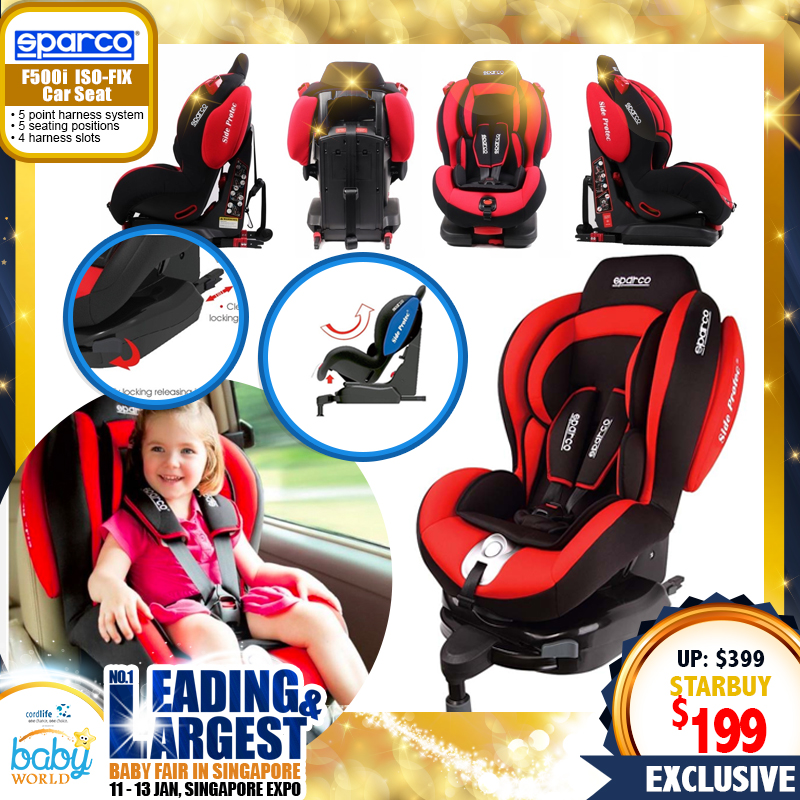 Sparco F500i ISO-FIX Carseat