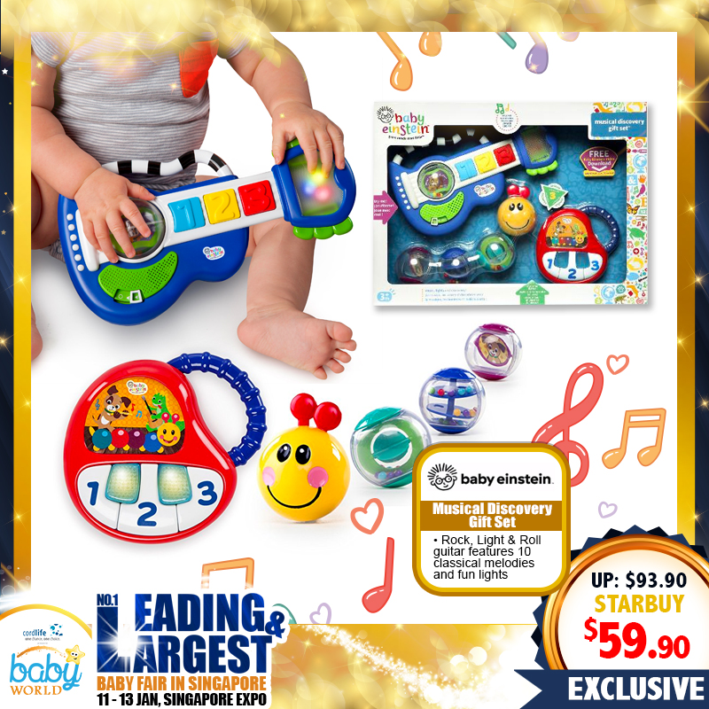 Baby Einstein Musical Discovery Gift Set (Toy)