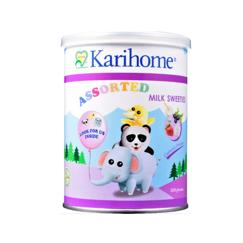 Karihome Milk Sweeties 200s (Assorted)