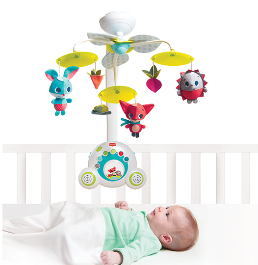 TinyLove Soothe 'N' Groove Mobile Meadow Days Mobile Toy