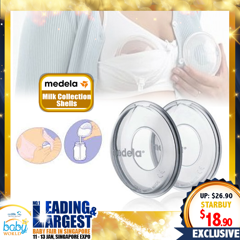 Medela Breastmilk Collection Shells - Made in Switzerland